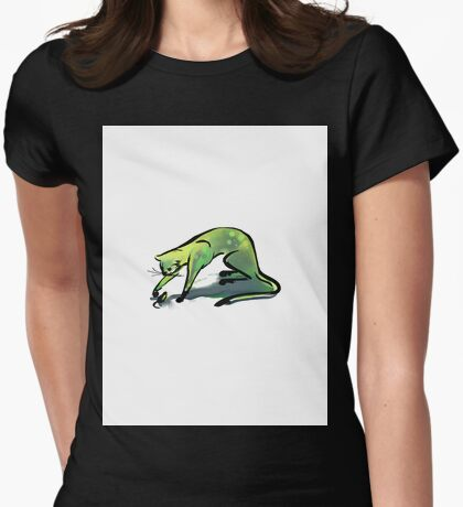 Simple Cat and Mouse (Large) T-Shirt