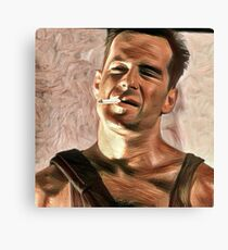 Die hard is art Canvas Print