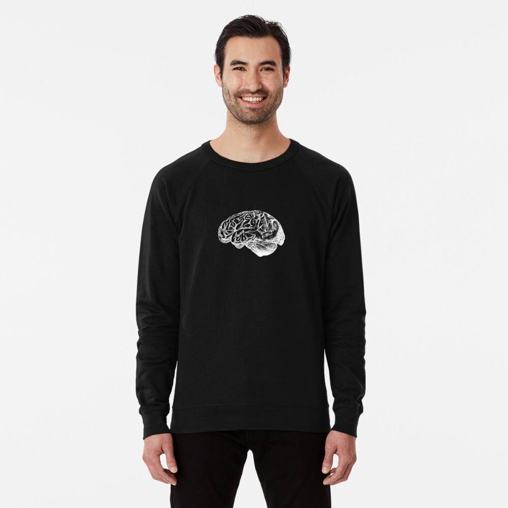 Anatomie des Gehirns Leichter Pullover