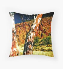 Gums Throw Pillow