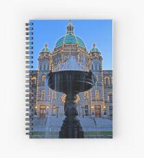 The Legislature Fountain Spiralblock