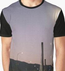 Sunset on the Overpass Graphic T-Shirt