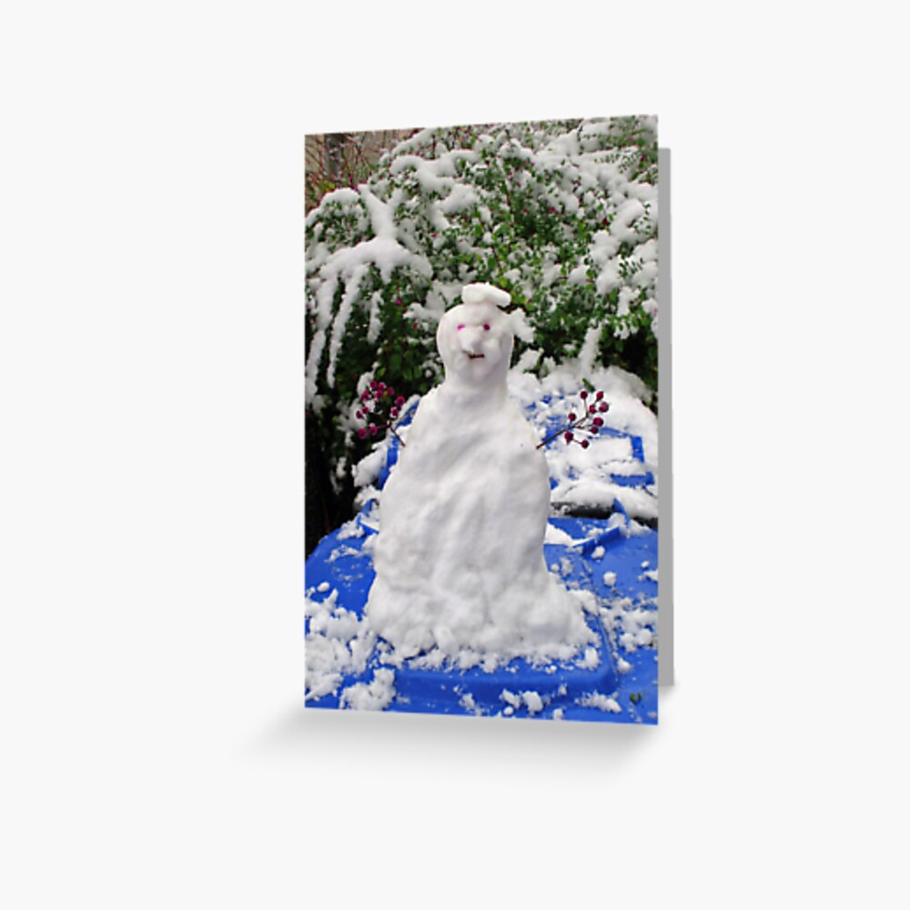 Mr. Winter Greeting Card