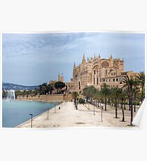 Cathedral of Palma de Mallorca Poster