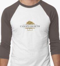 Canopy Growth Logo Men's Baseball ¾ T-Shirt