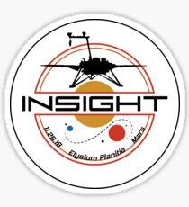 Mars InSight Sticker