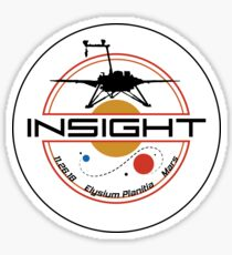 Mars InSight Sticker