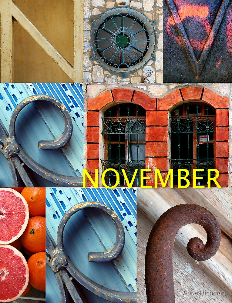 November by Abba Richman