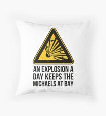 Risk of Michael Bay - Explosion Floor Pillow