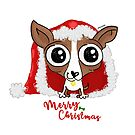 Chihuahua Puppy Christmas by orichalbaud