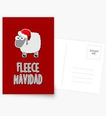 Fleece Navidad Postcards