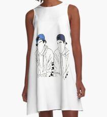 Ethan, Grayson, Dolan A-Line Dress