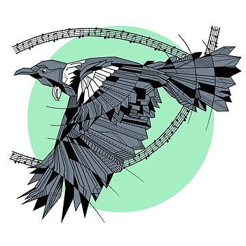 Tui Song Bird by piedaydesigns