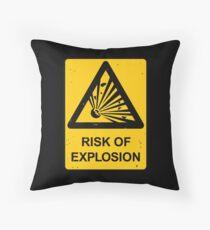 Risk of Explosion Floor Pillow