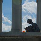 James Whitcomb Riley Grave - Indianapolis by Bob  Perkoski