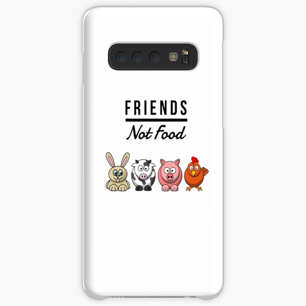 Friends Not Food Vegan Funny Gift Idea Funda y vinilo para Samsung Galaxy