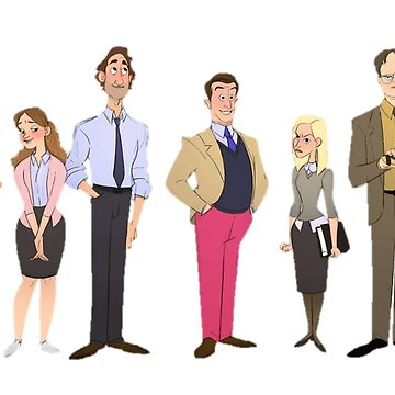 The Office Character Design by mostlytank