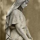 Crown Hill Statue by Bob  Perkoski