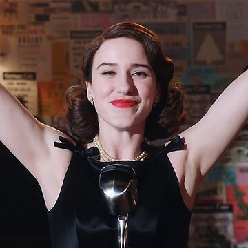 Mrs. Maisel at her Best [Oil Paint Rendering] by michaelroman