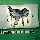 Beware of dog by andytechie