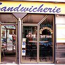 Paris sandwich shop by andytechie