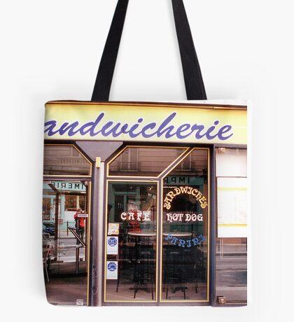 Paris sandwich shop Tote Bag
