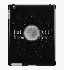 Full Moon Full Heart iPad Case/Skin