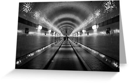 Hamburg - Alter Elbtunnel by Ronny Stiffel