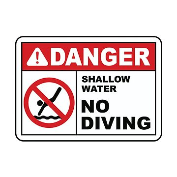 no diving by L-Scott