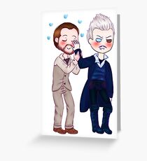 Grindelwald & Dumbledore Greeting Card