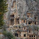 In Turkey, Lucian rock-cut tombs by loiteke