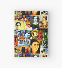 Cuaderno de tapa dura Frida Kahlo Collage Pop Art