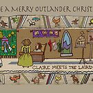 Christmas Cards - Gabeaux Tapestry No. 6 by jennyjeffries