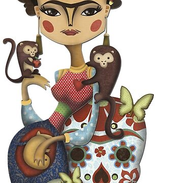 Frida Kahlo corazón de CatalanART