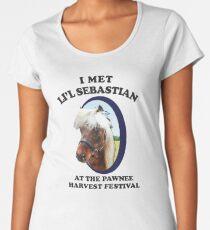 I met Li'l Sebastian at the Pawnee Harvest Festival Women's Premium T-Shirt