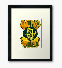 Dead Seed: Yellow Rio Framed Print