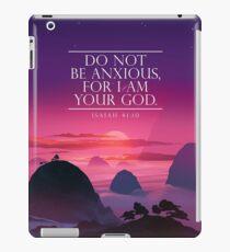 JAHRTEXT 2019 (Purple Sunset) iPad-Hülle & Klebefolie