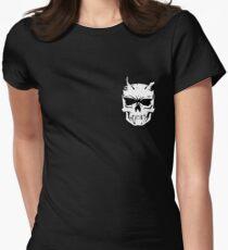 Skull Logo  Women's Fitted T-Shirt