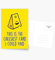 This is the cheesiest card I could find Postcards