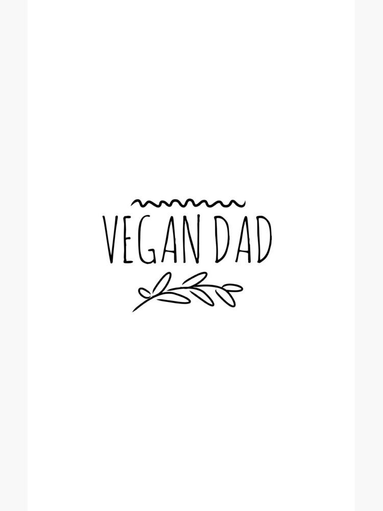 Vegan Dad Funny Gift Idea de FunnyGiftIdeas