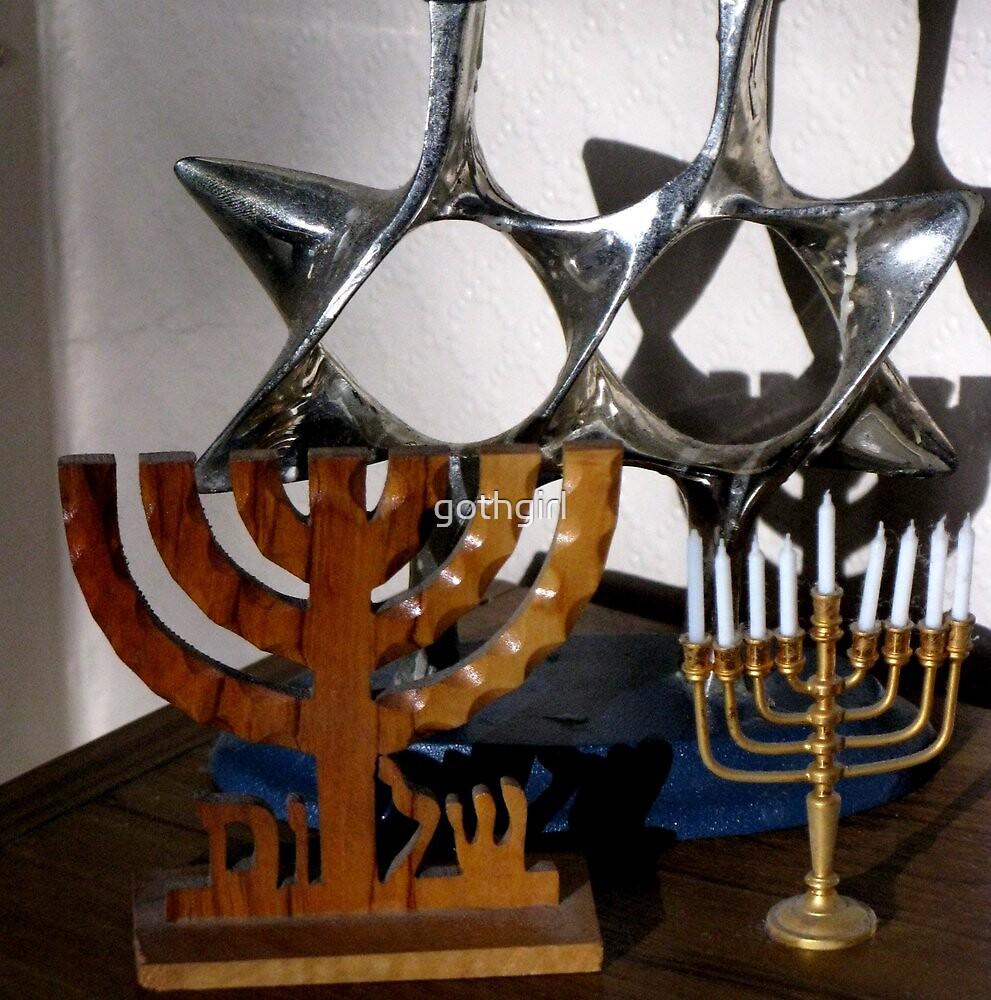 Happy Hanukkah   by gothgirl
