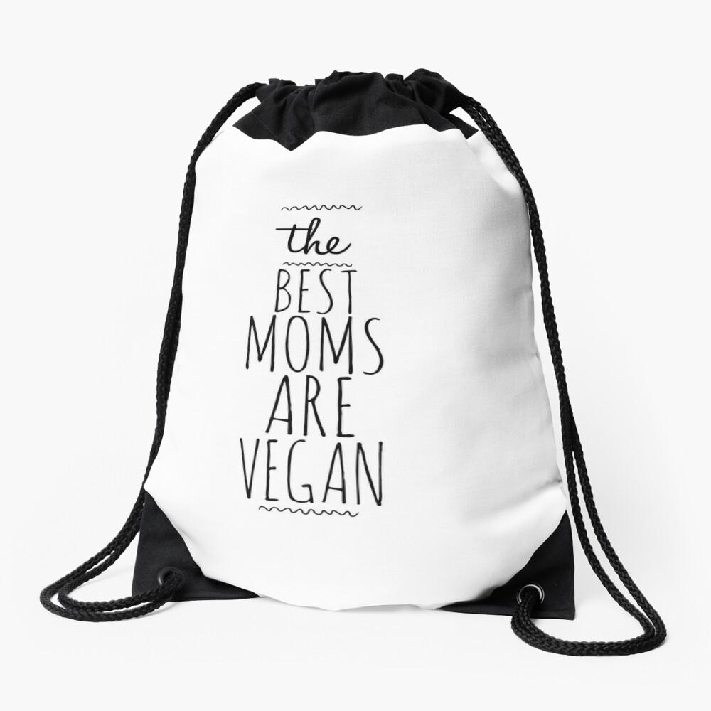 My Vegan Mom Funny Gift Idea Mochila saco