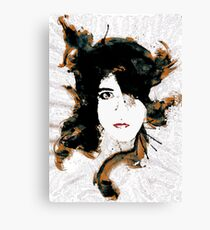 The splashy comedian Canvas Print