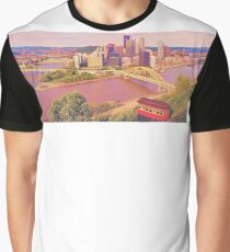 View from Mt Washington Graphic T-Shirt