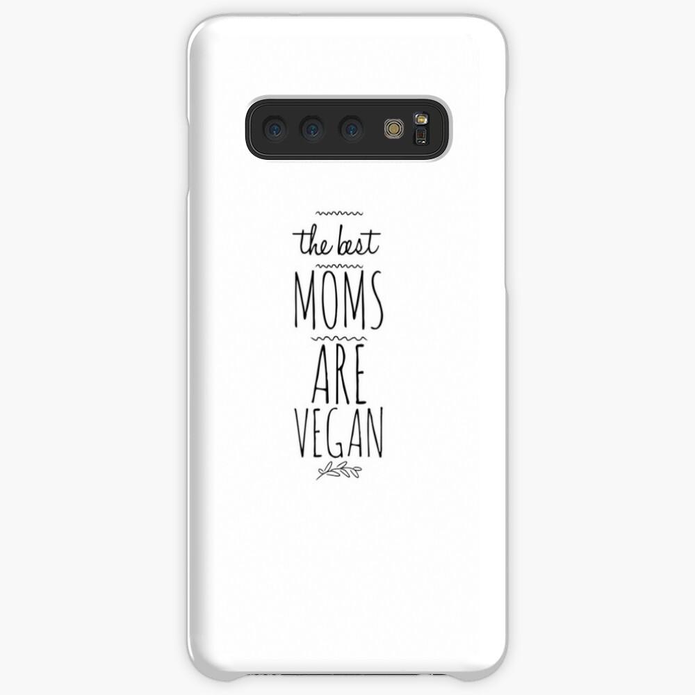 Vegan Mama Mom Funny Gift Idea Funda y vinilo para Samsung Galaxy