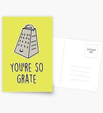 You're so grate Postcards