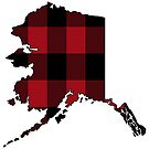 Alaska Dressed in Red Plaid by Sun Dog Montana