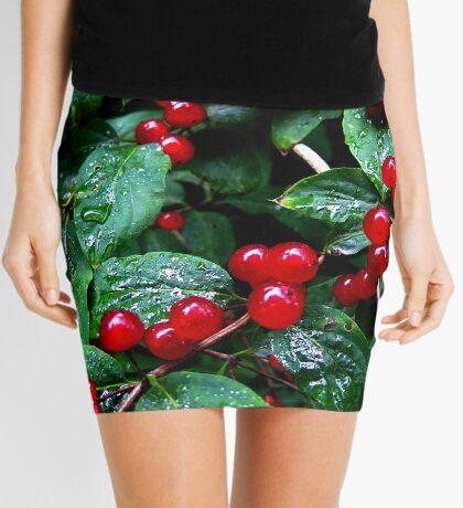 Rainy berries Mini Skirt
