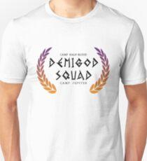 Camiseta ajustada escuadrón semidiós.