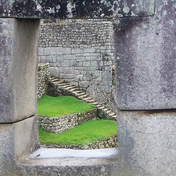 Machu Pichu Window by Duncs